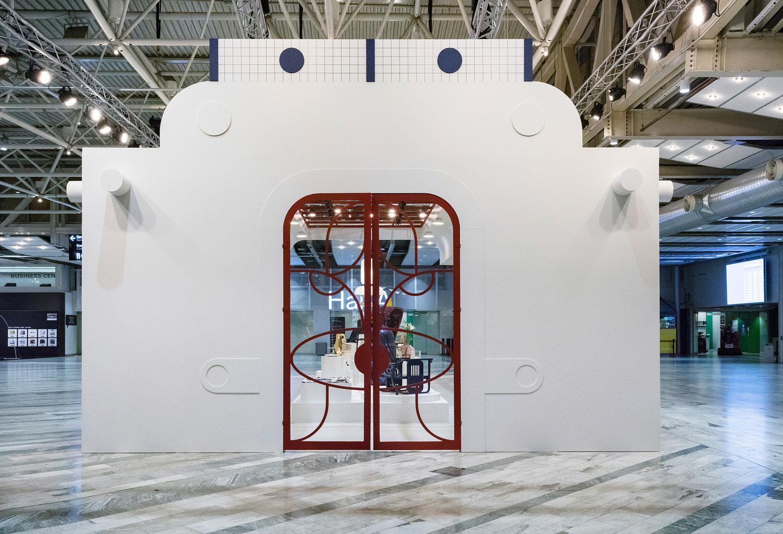 Jaime Hayon Pavilion Design Installation at Stockholm Furniture Fair 2017 | Yellowtrace