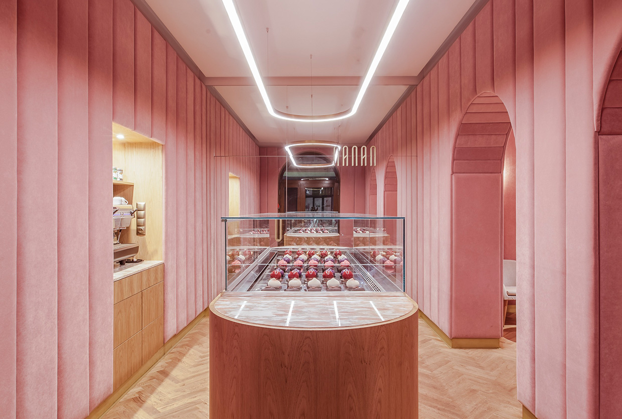 NANAN Patisserie in Wroclaw, Poland by BUCKSTUDIO | Yellowtrace