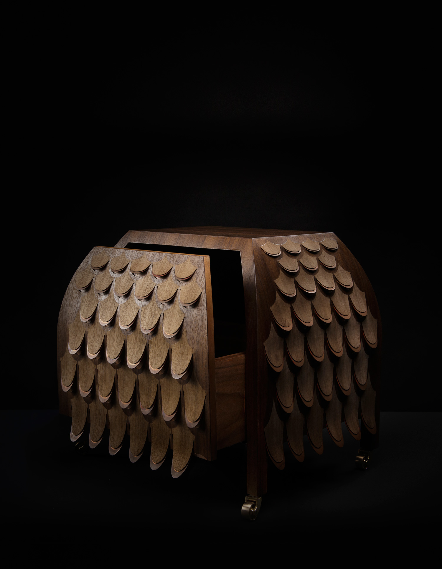 Pankalangu Side Table, Broached Monsters by Trent Jansen | Yellowtrace