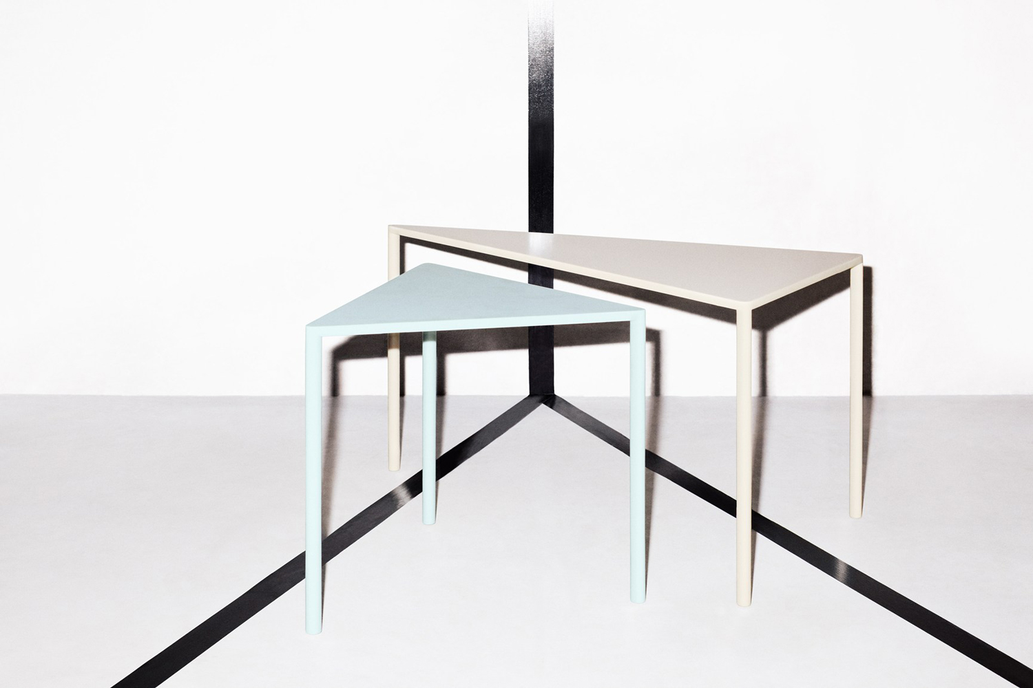 Point Tables by Massproductions at Stockholm Furniture Fair 2017 | Yellowtrace