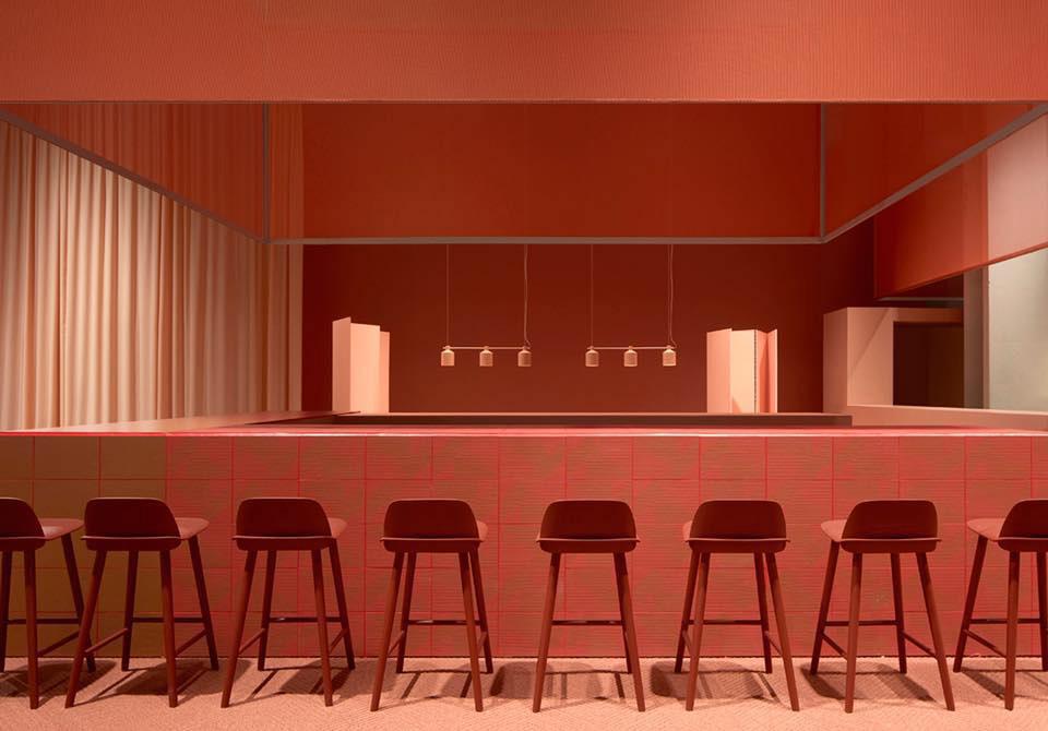 Sulla Bocca di Tutti Design Bar by Note Design Studio at Stockholm Furniture Fair 2017 | Yellowtrace