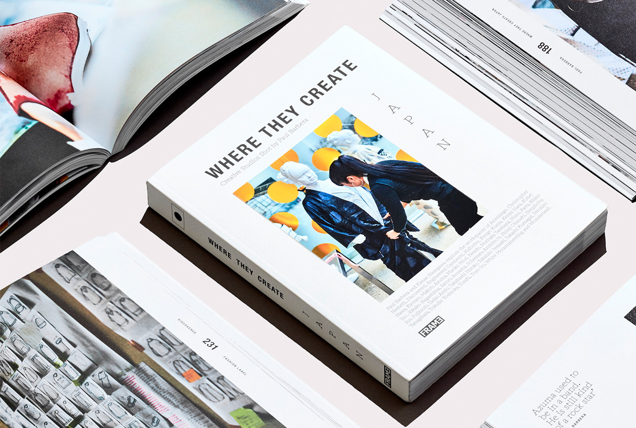 Where They Create, Japan by Photographer Paul Barbera + BOOK GIVEAWAY! | Yellowtrace