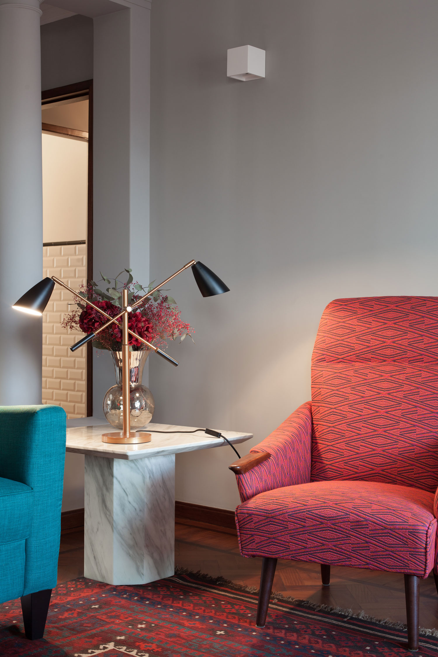 1940s Retro Apartment Renovations, Palacio 7E in Porto by Atelier in.vitro | Yellowtrace
