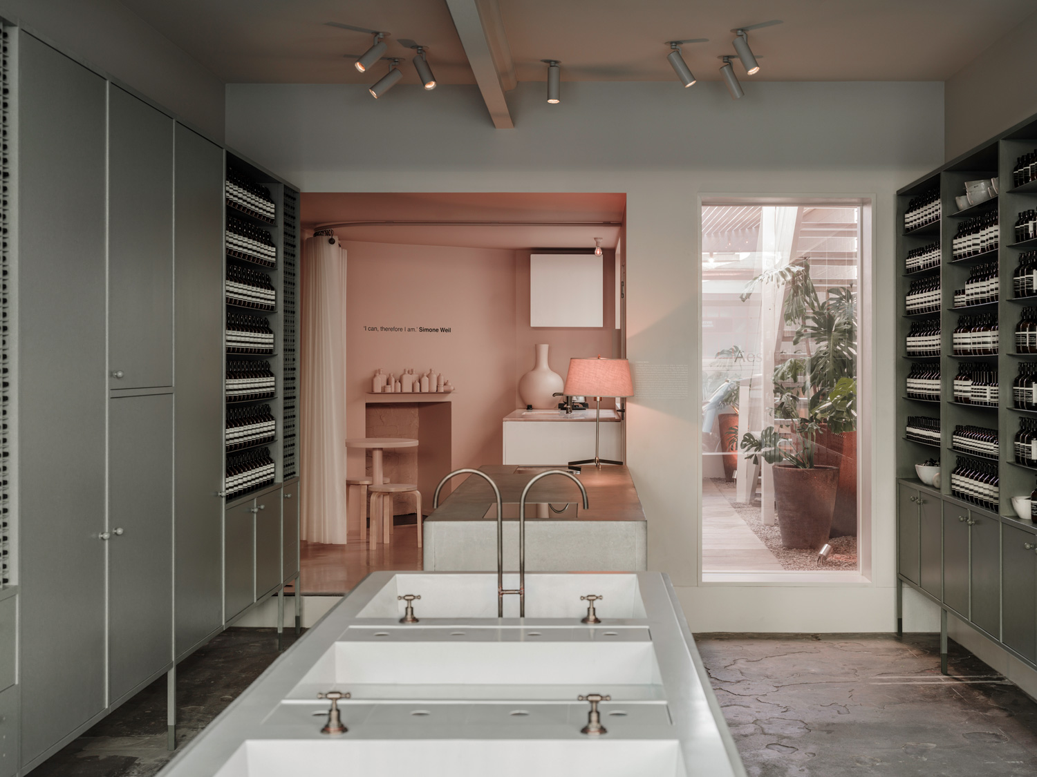 Aesop Store in Fitzroy, Melbourne by Clare Cousins Architects | Yellowtrace