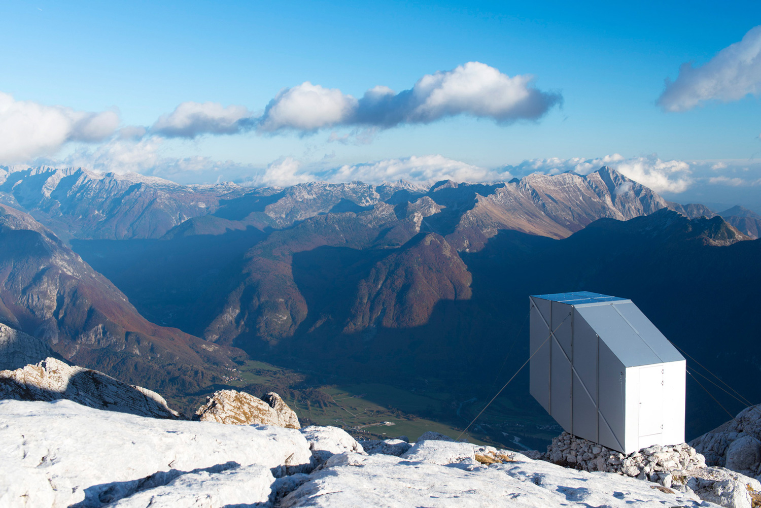 Alpine Shelter in Slovenia by OFIS Architecture | Yellowtrace