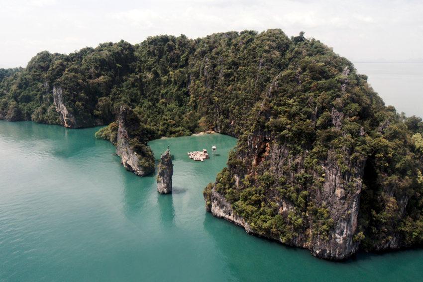 Archipelago Cinema in Thailand by Buro Ole Scheeren   Yellowtrace