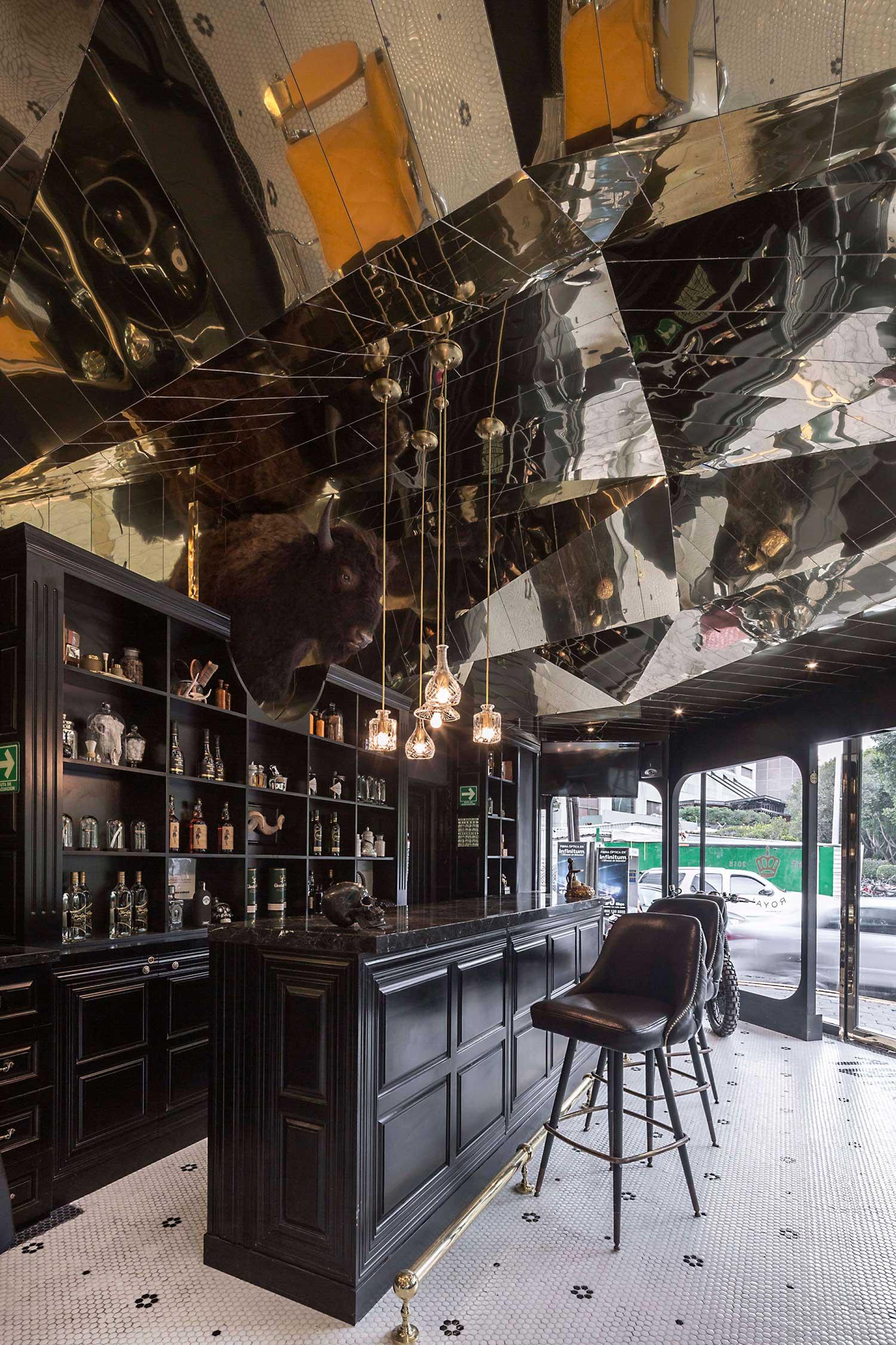 Barberia Royal by ROW Studio | Yellowtrace