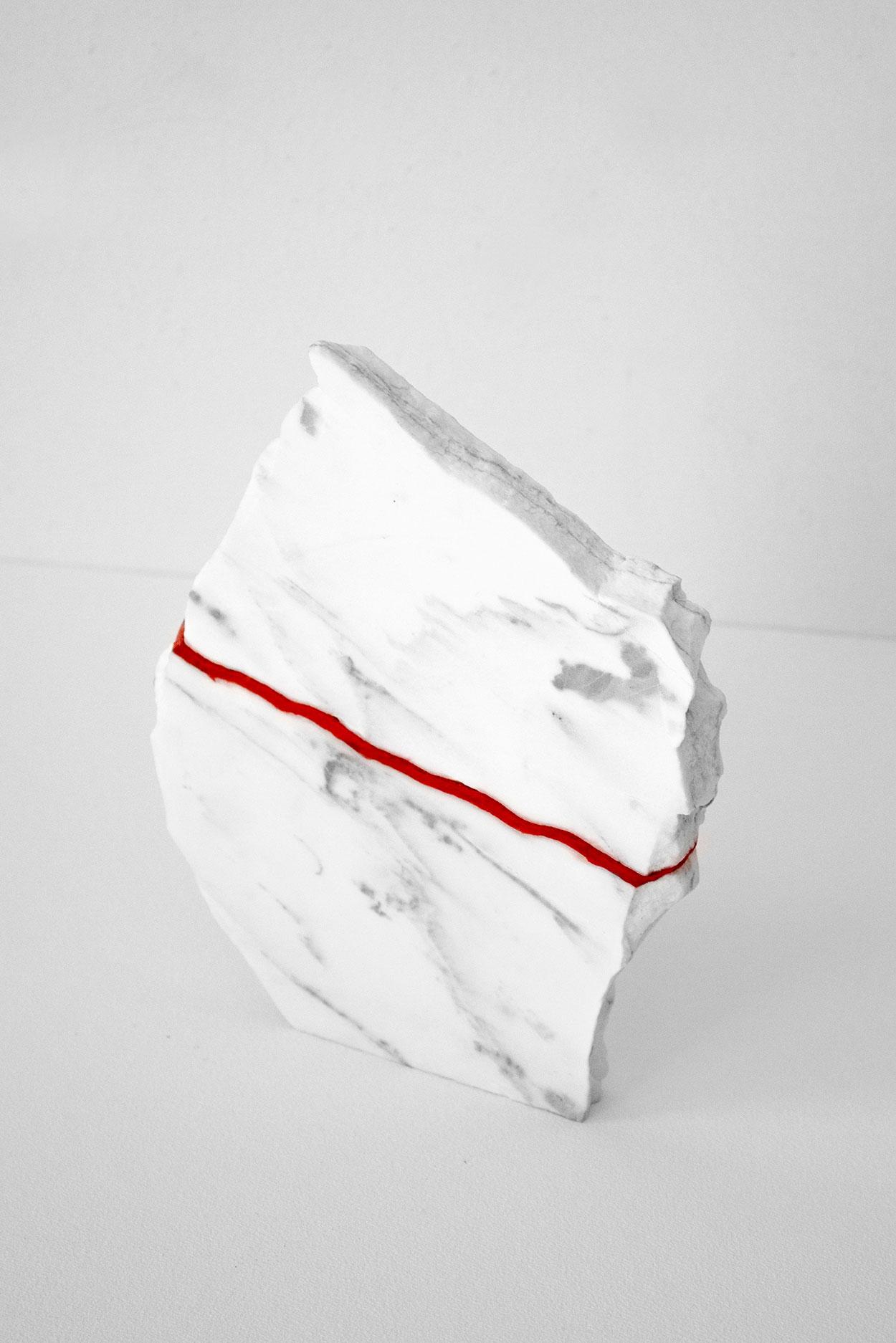 Carla Cascales' Sculpture Project, Broken | Yellowtrace