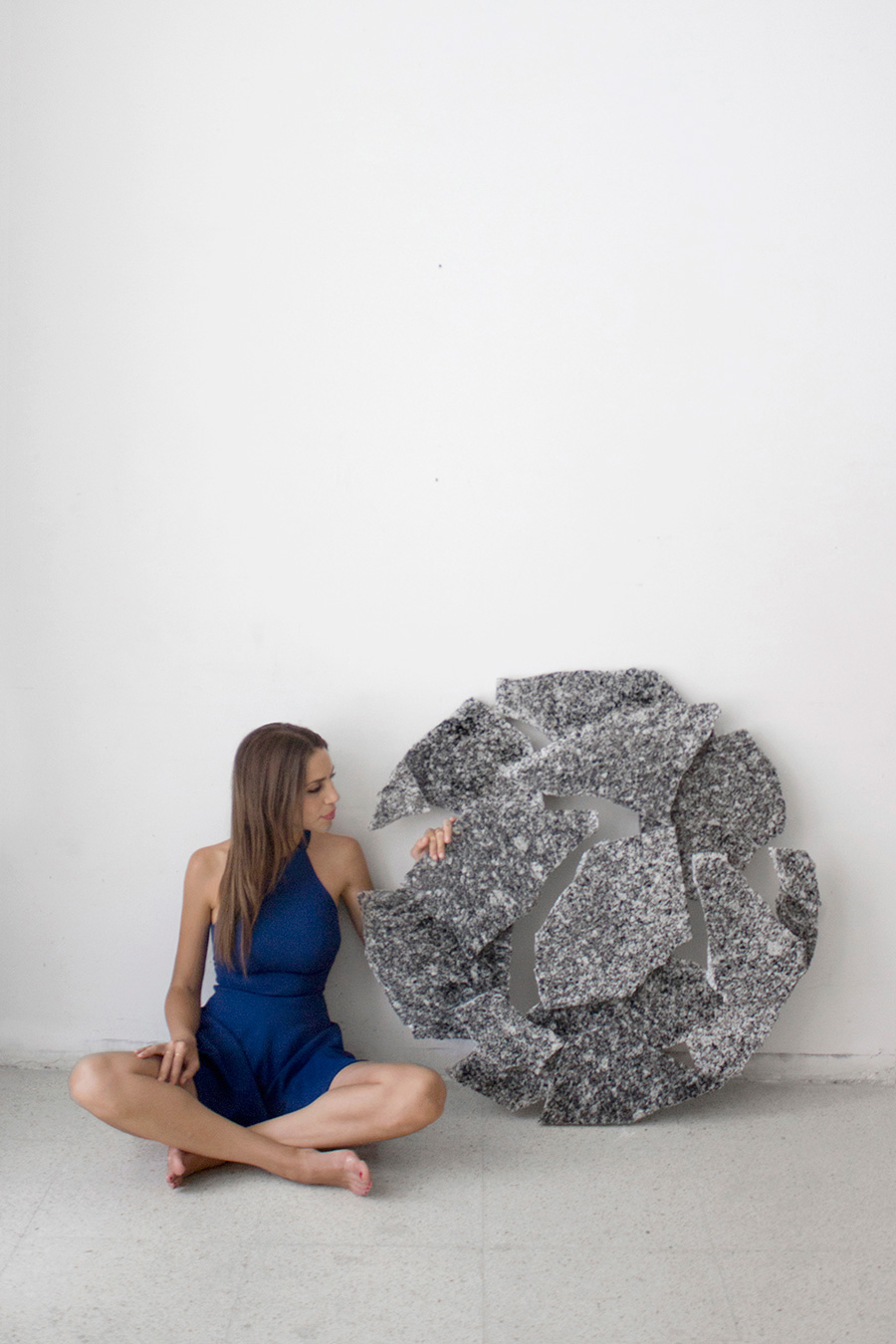 Carla Cascales' Sculpture Project, Moon   Yellowtrace