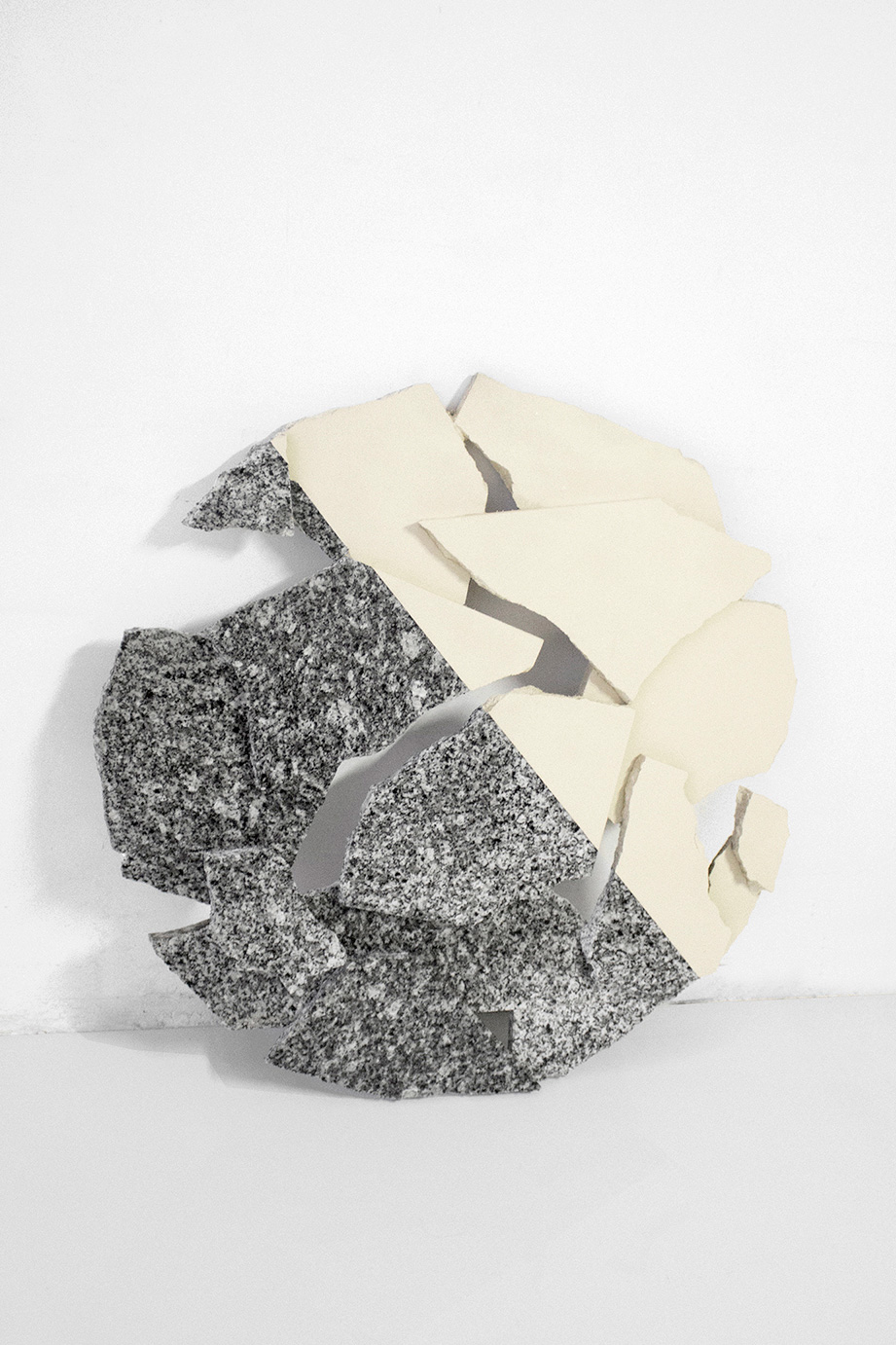 Carla Cascales' Sculpture Project, Moon | Yellowtrace