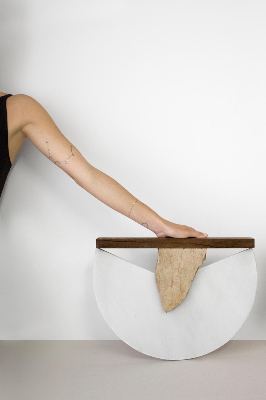 Carla Cascales' Sculpture Project, Semicircular | Yellowtrace
