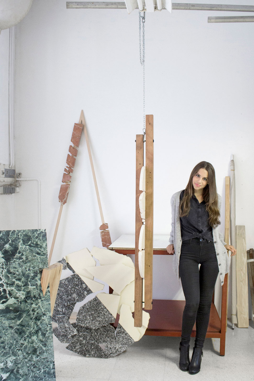 Carla Cascales' Sculpture Project | Yellowtrace