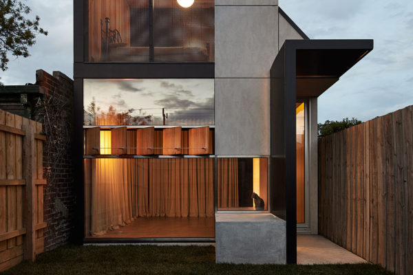 Dark Horse House Extension by Architecture Architecture.