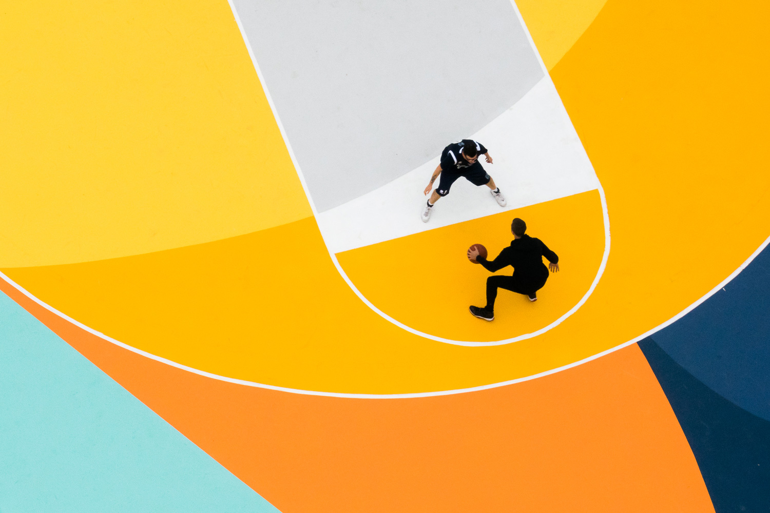 Gue Basketball Court in Italy | Yellowtrace