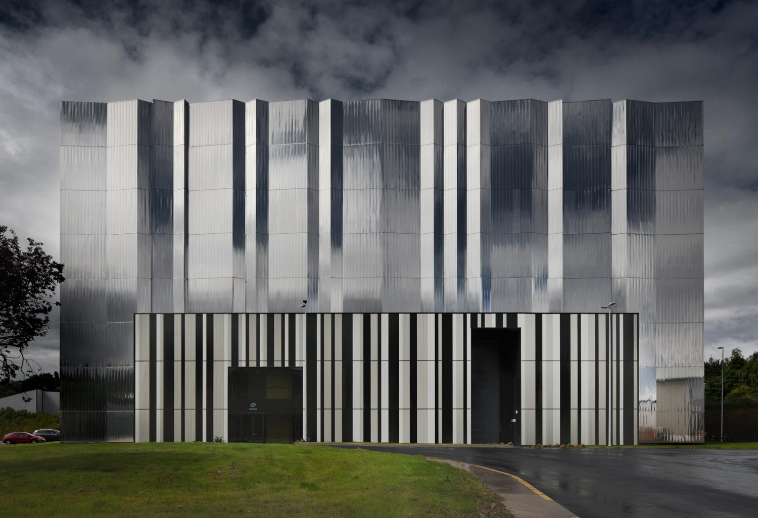 High Voltage Laboratory by ACXT Architects | Yellowtrace