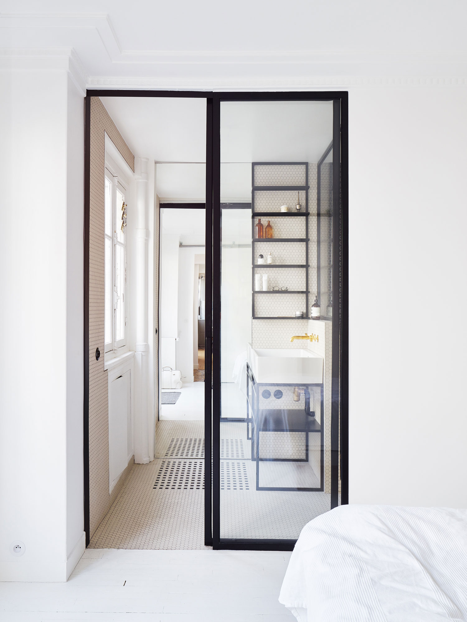 Hubert Apartment in Paris by Septembre Architecture | Yellowtrace