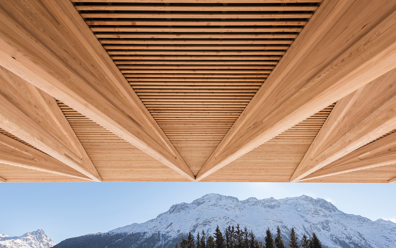 Kulm Eispavillon in St Moritz by Foster + Partners | Yellowtrace