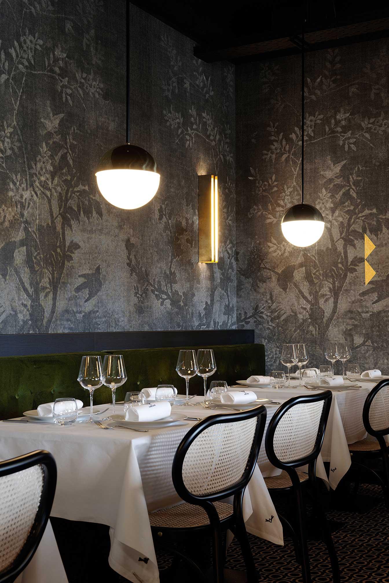 La Foret Noire Restaurant in Chaponost, France by Claude Cartier Studio | Yellowtrace