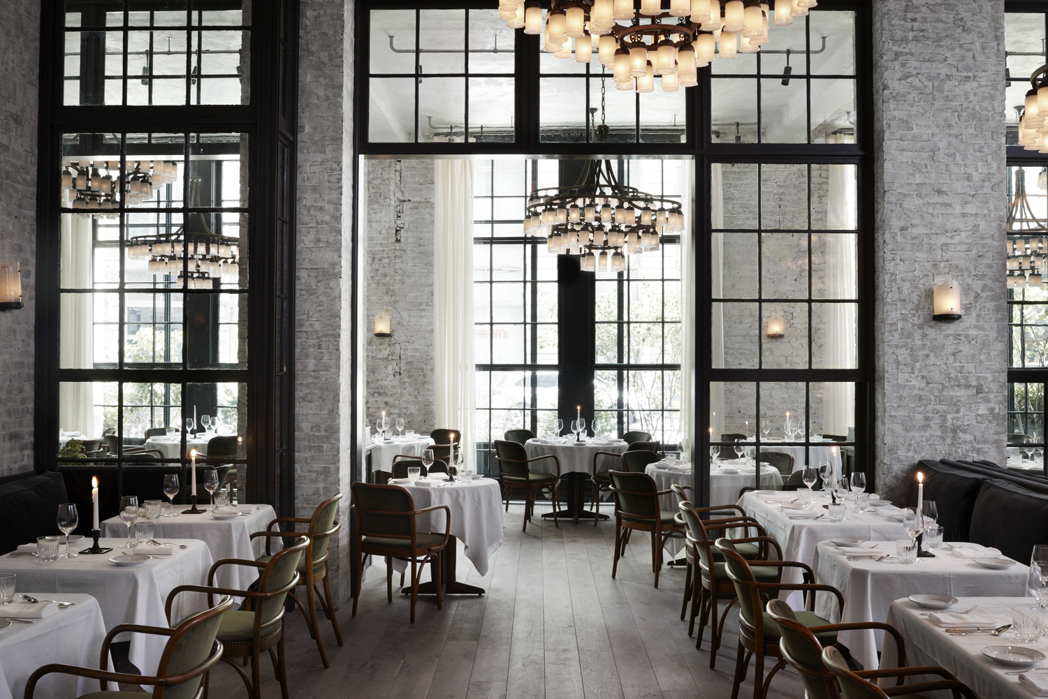 Le Coucou Restaurant in New York by Roman and Williams | Yellowtrace