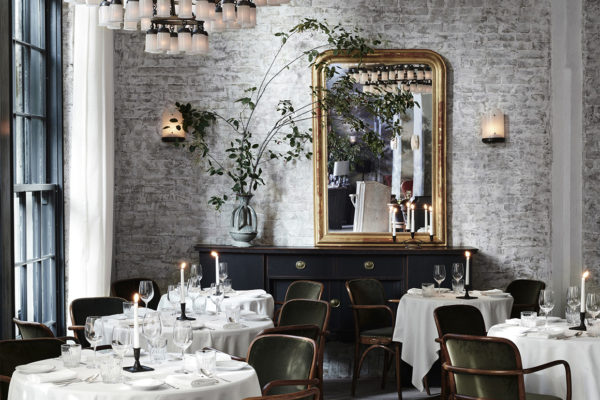 Le Coucou Restaurant in New York by Roman & Williams | Yellowtrace
