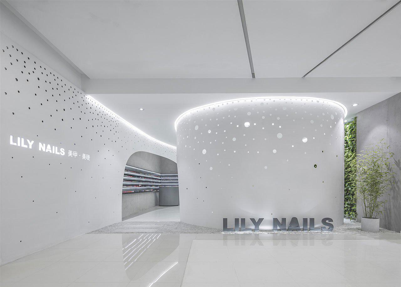 Lily Nails: Nail & Eyelash Salon by Archstudio | Yellowtrace