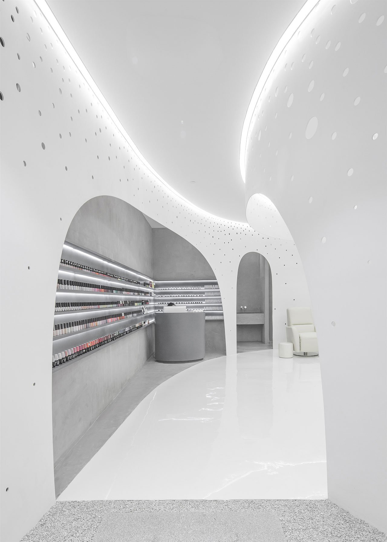 Lily Nails: Nail & Eyelash Salon by Archstudio | Yellowtrace