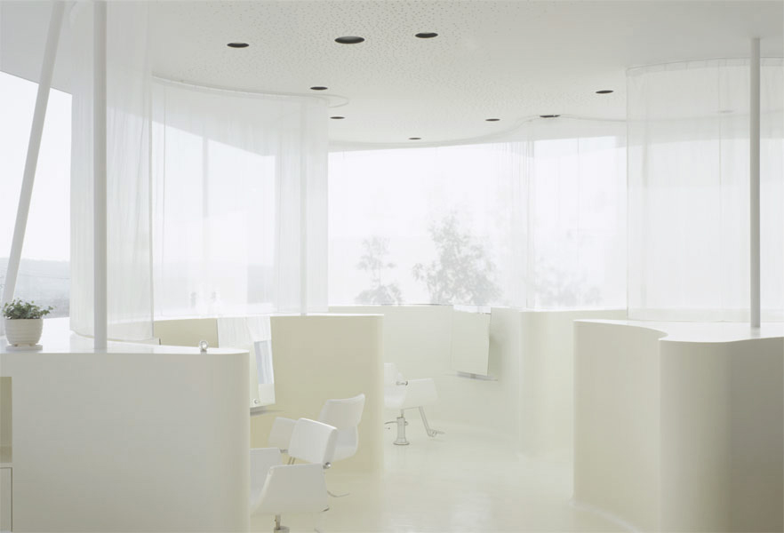 Lotus Beauty Salon by Hiroshi Nakamura & NAP | Yellowtrace