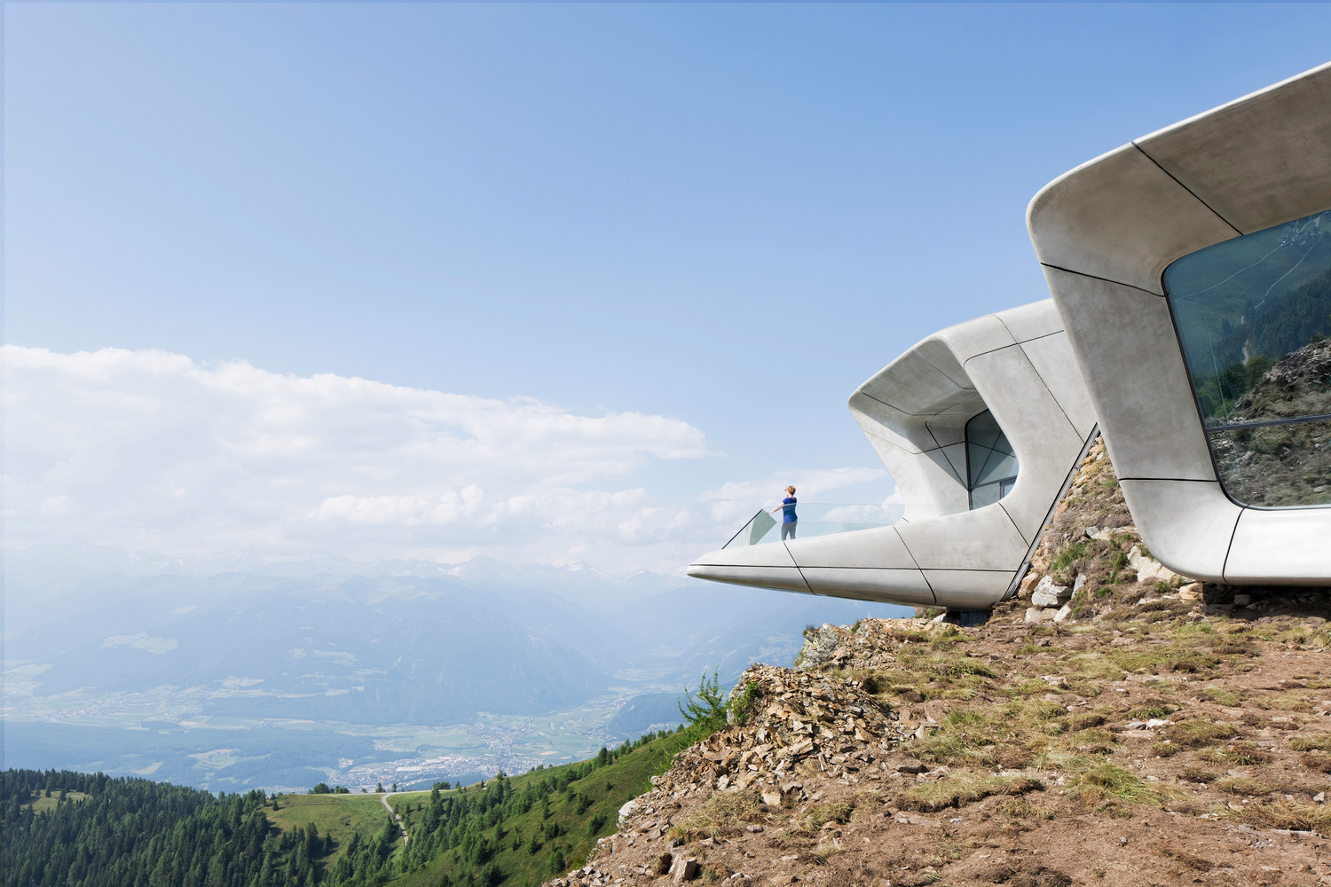 Messner Mountain Museum Corones by Zaha Hadid Architects | Yellowtrace