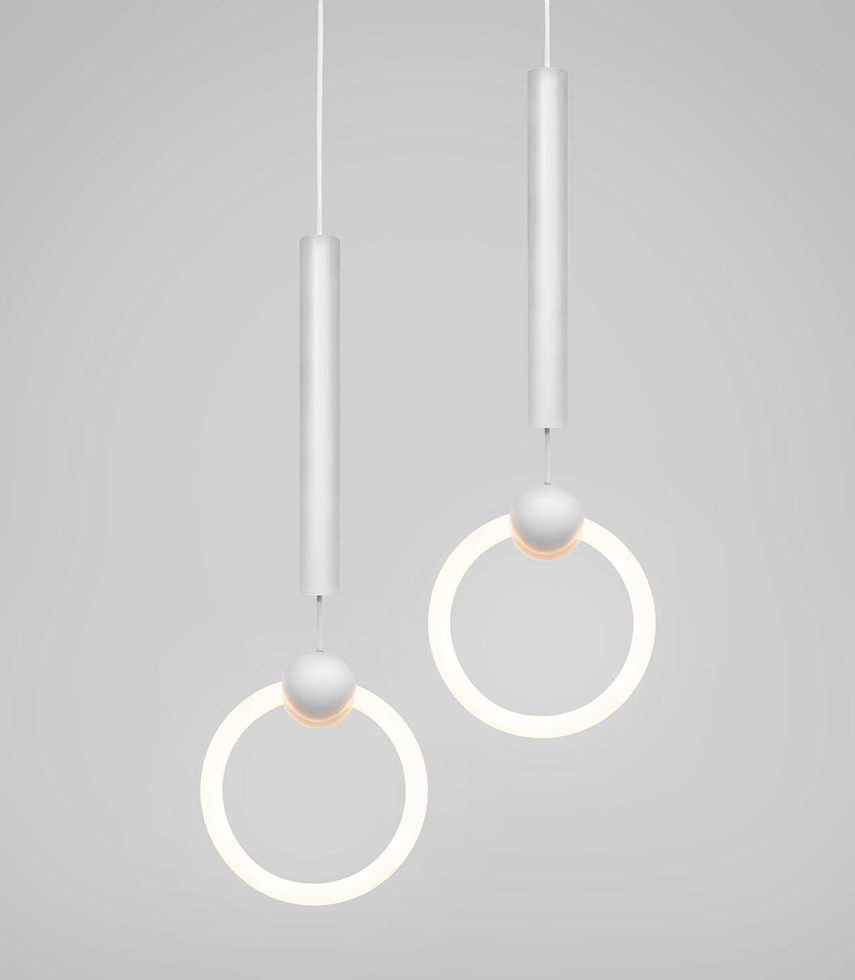 #Milantrace2017 Lee Broom 10 Year Light Rings Photo Beth Davis | Yellowtrace