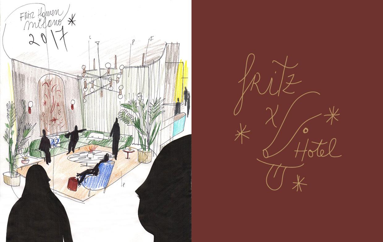 #Milantrace2017 Fritz Hansen presents Fritz Hotel | Yellowtrace