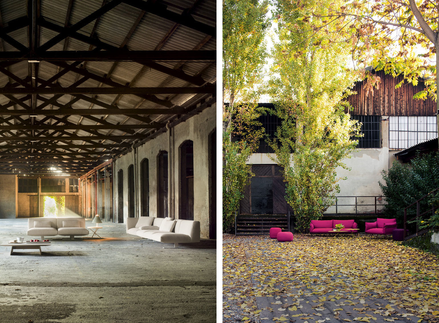 #Milantrace2017 New Venue for Paola Lenti at Mesign Design Week 2017 | Yellowtrace
