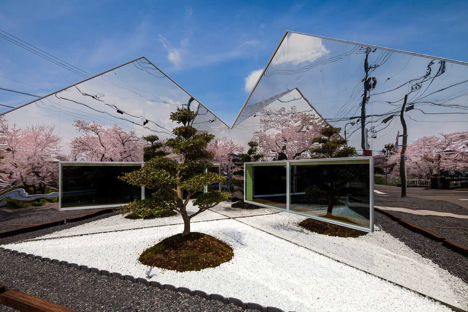 Mirrors Cafe in Gifu, Japan by Bandesign | Yellowtrace