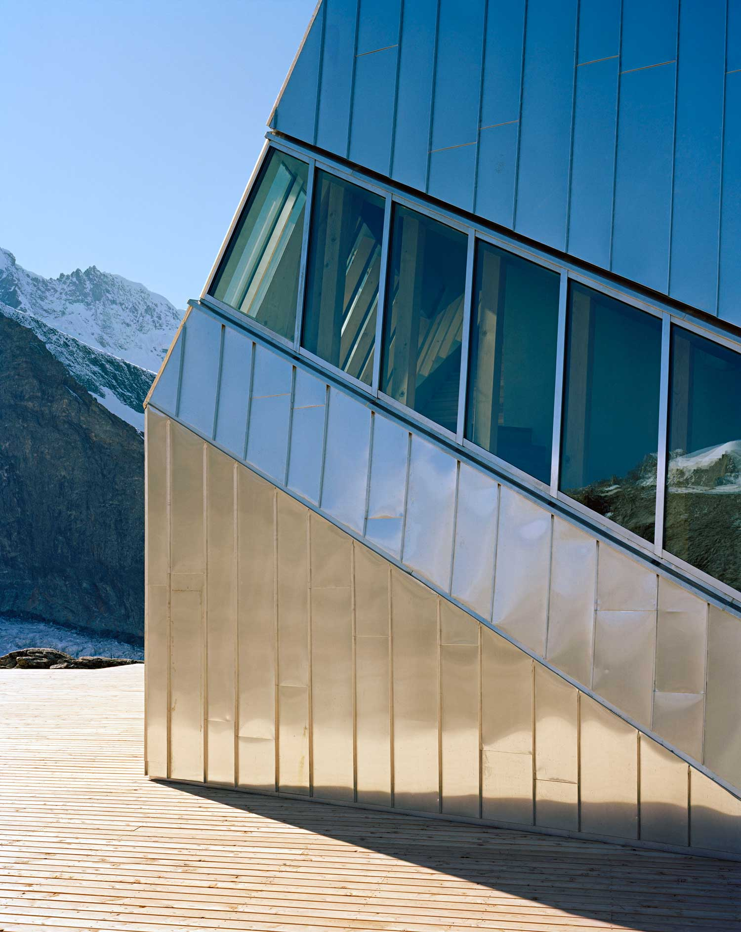 Monte Rosa Hut in Switzerland by Bearth & Deplazes Architekten | Yellowtrace