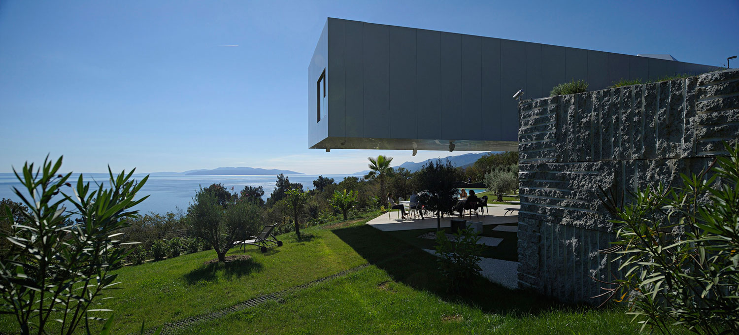 Nest and Cave House Abbazia in Croatia by Idis Turato | Yellowtrace