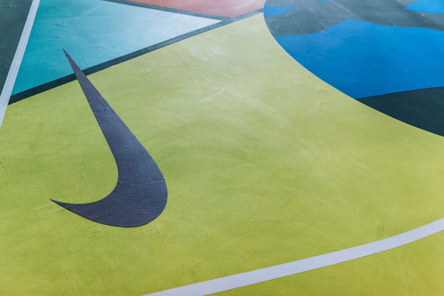 New York Basketball Courts by Kaws | Yellowtrace