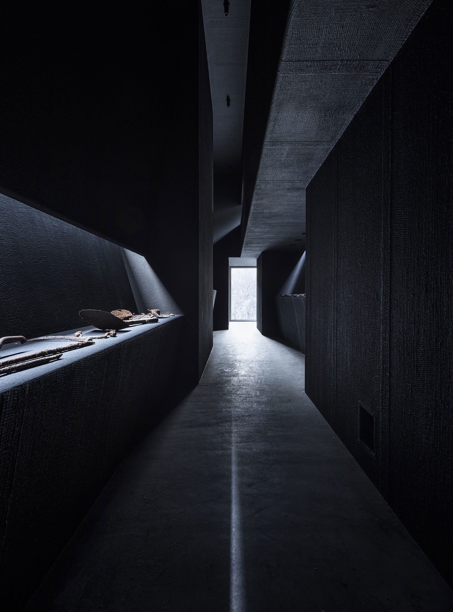 Peter Zumthor's Allmannajuvet Zinc Mine Museum in Sauda, Norway | Yellowtrace