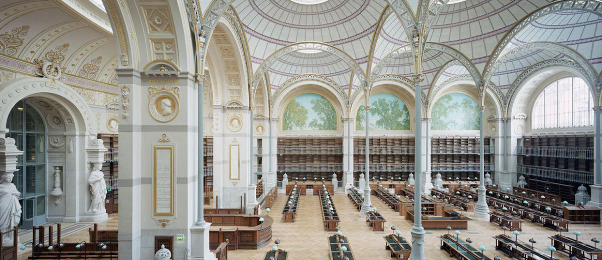 Spectacular Renovation of The National Library of France by Jean-François Lagneau | Yellowtrace