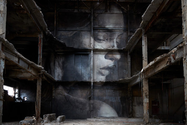 The Demolition of Beauty: Rone's Hidden Artwork in Melbourne | Yellowtrace