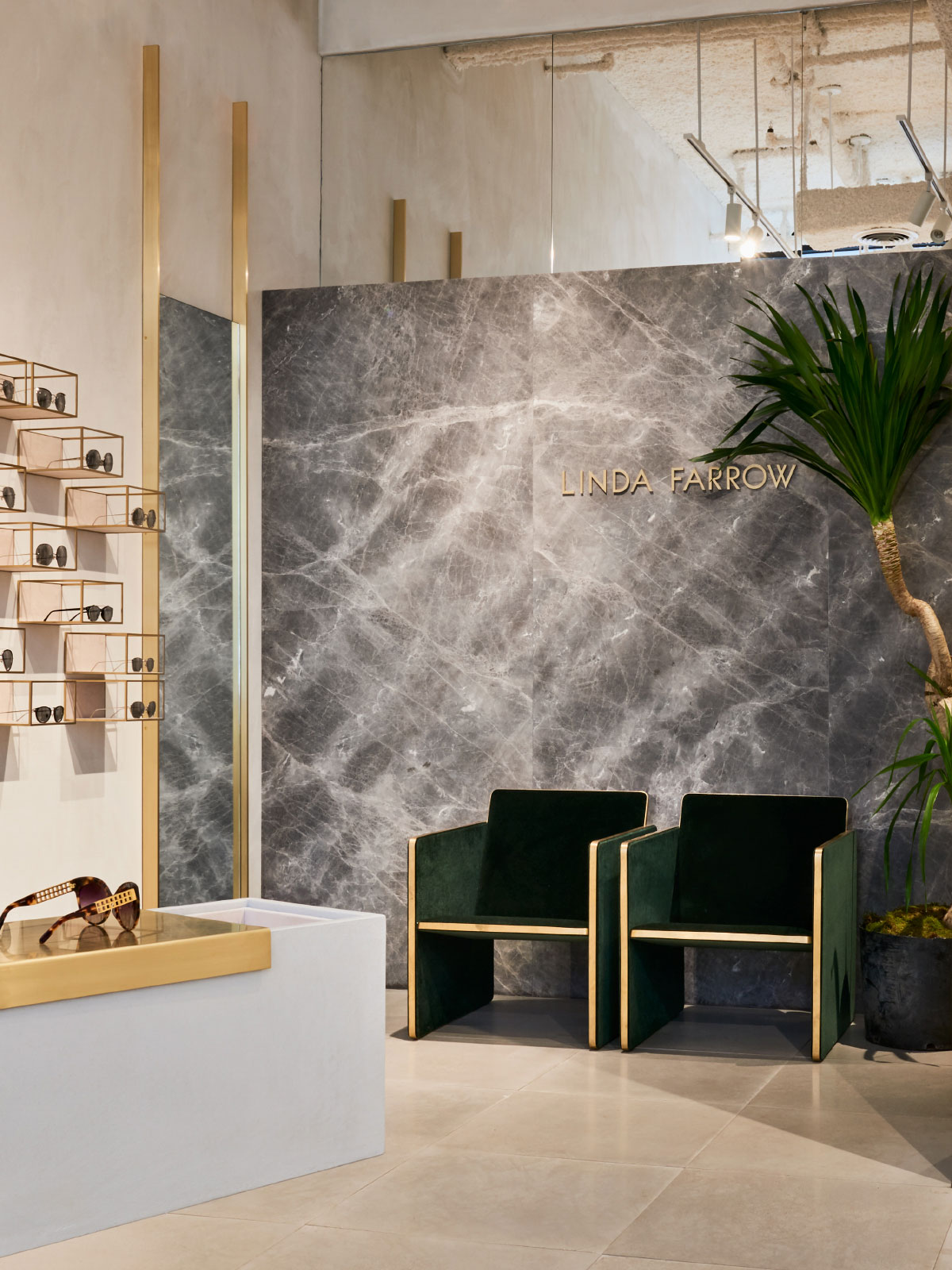 Studio Giancarlo Valle Designs Linda Farrow's First US Store in SoHo, New York City   Yellowtrace