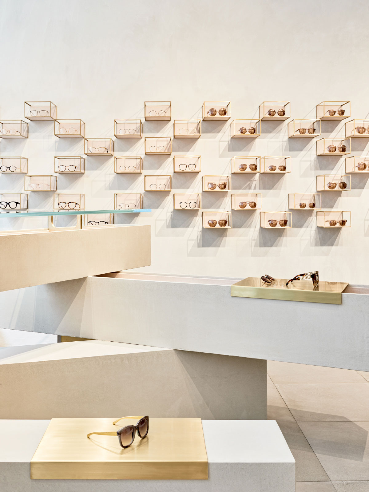 Studio Giancarlo Valle Designs Linda Farrow's First US Store in SoHo, New York City | Yellowtrace
