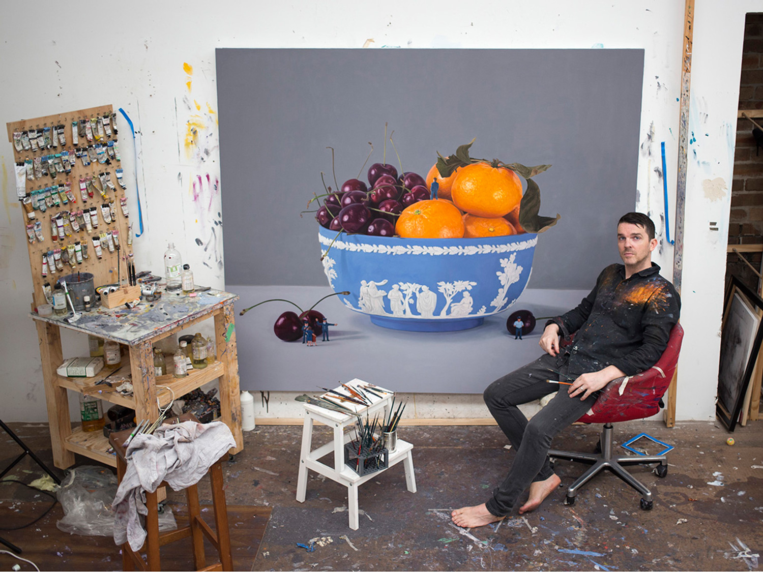 Studio Photo of Jonathan Dalton with Big Bowl | Yellowtrace