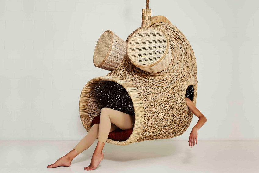 Suspended Sofas, Cocoons & Nests by Porky Hefer | Yellowtrace