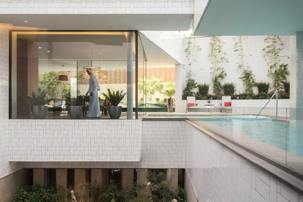 Three Gardens House in Kuwait by AGi architects | Yellowtrace