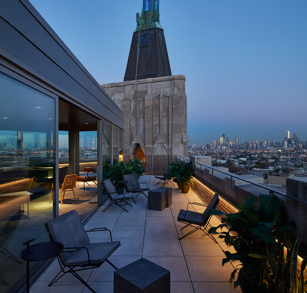 Grupo habita launches two sister hotels in chicago for Robey hotel chicago