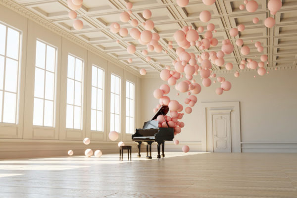 Filling Spaces by Digital Artist Federico Picci   Yellowtrace