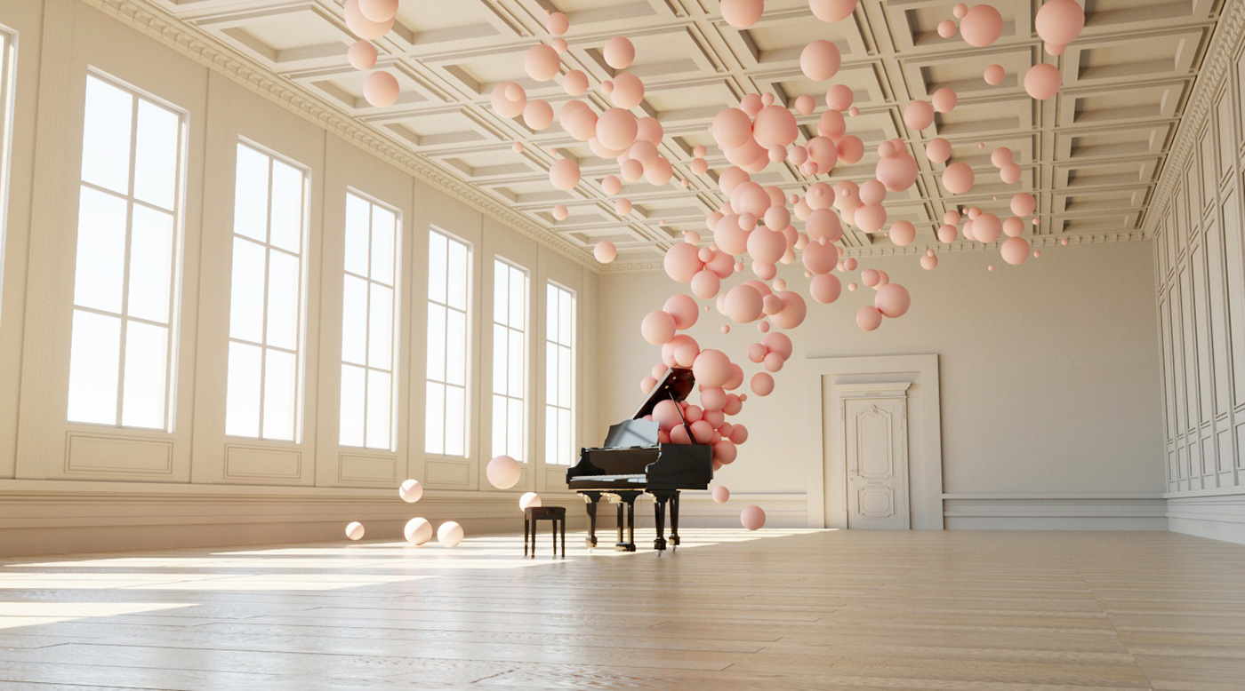 Filling Spaces by Digital Artist Federico Picci | Yellowtrace