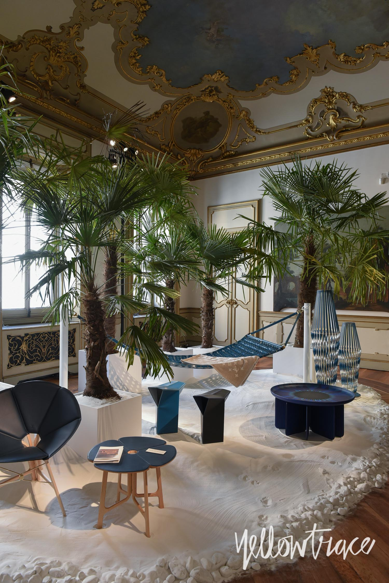Milan Design Week 2017 Highlights, Louis Vuitton's Objet Nomades at Palazzo Bocconi, Photo © Nick Hughes | #Milantrace2017