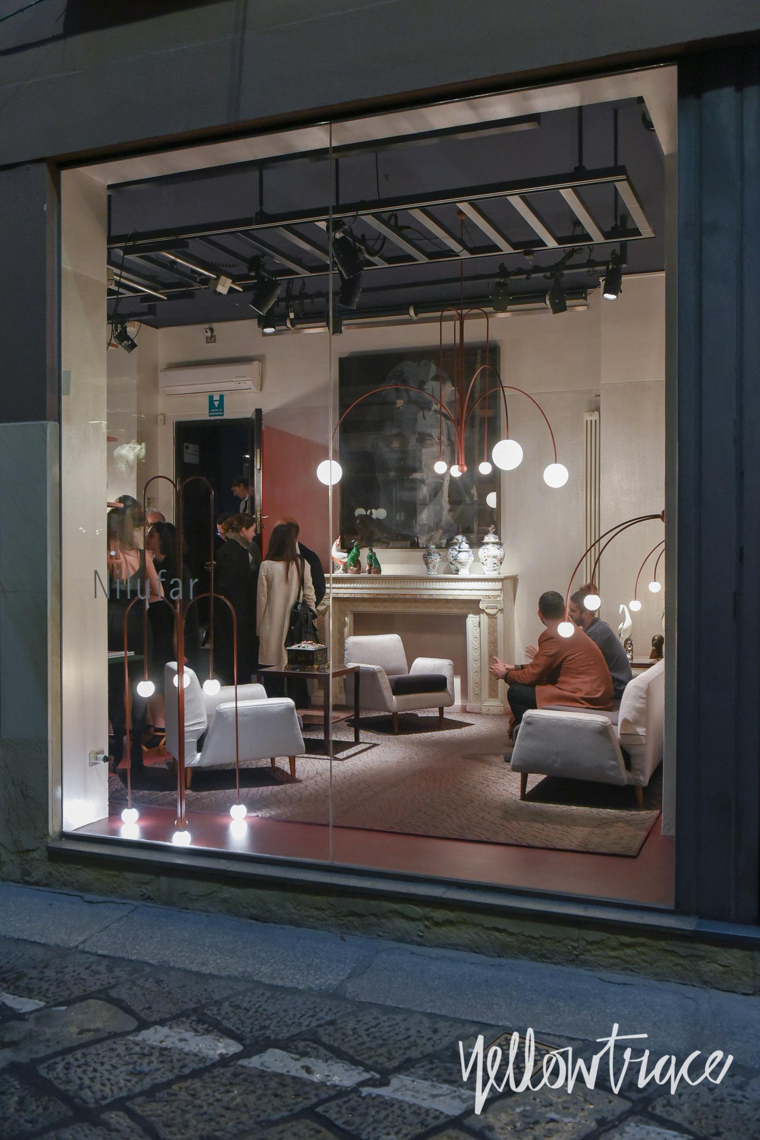 Milan Design Week 2017 Highlights, Nilufar Gallery on Via Della Spiga, Photo © Nick Hughes | #Milantrace2017