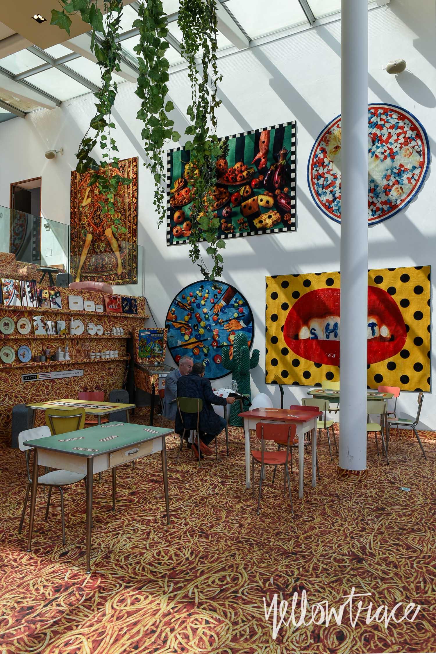 Milan Design Week 2017 Highlights, Seletti Cafe at Wallpaper Handmade, Photo © Nick Hughes | #Milantrace2017