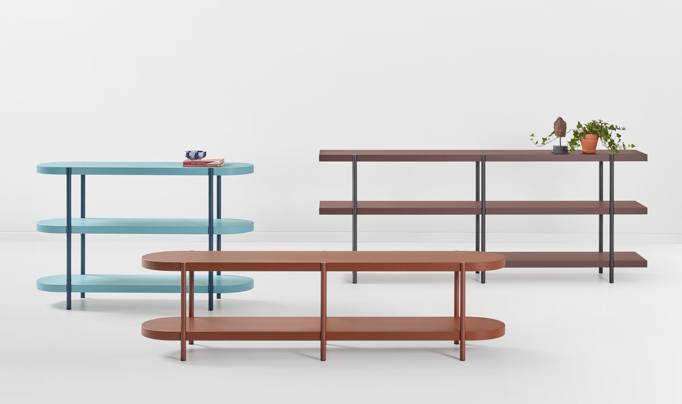 Palladio Shelves by Artifort at Salone del Mobile 2017 | Yellowtrace